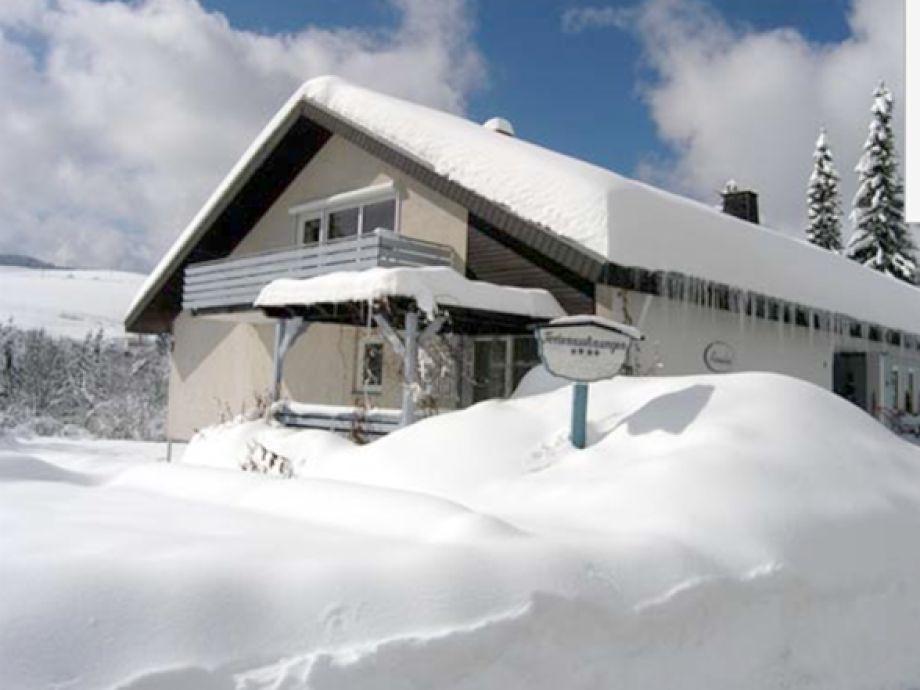 Ferienwohnung Amelie im Winter