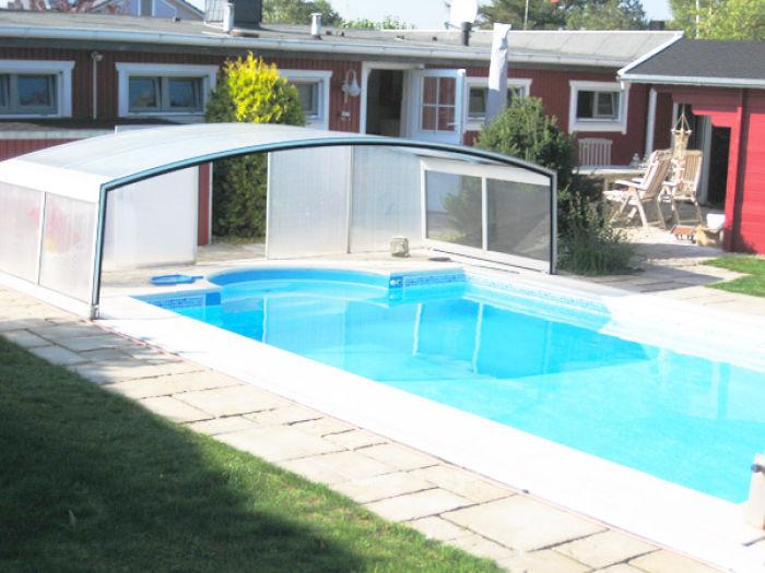 luxus ferienhaus lilleby mit beheiztem pool am sch nsten. Black Bedroom Furniture Sets. Home Design Ideas