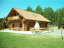 Ferienhaus Blockstammhütte