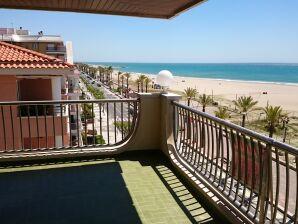 Ferienwohnung Milagros mit WLAN direkt am Strand