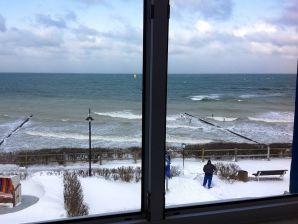 Hotel Nienhäger Strand Blick auf's Meer