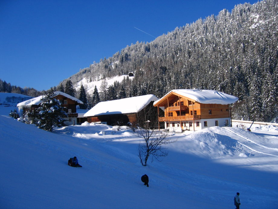 Oberreith im Winter