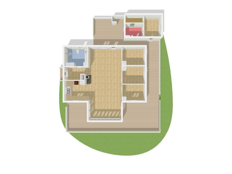ferienhaus nglavik sm land firma schwedenblau. Black Bedroom Furniture Sets. Home Design Ideas