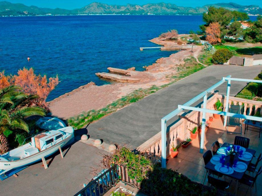 ferienwohnung sa terrassa welt europa spanien balearen mallorca alcudia firma. Black Bedroom Furniture Sets. Home Design Ideas