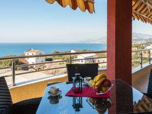 Ferienwohnung Modernes Panorama-Apartment mit Terrasse und Meerblick