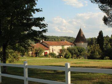 Ferienhaus Manoir de Moncé, Westflügel