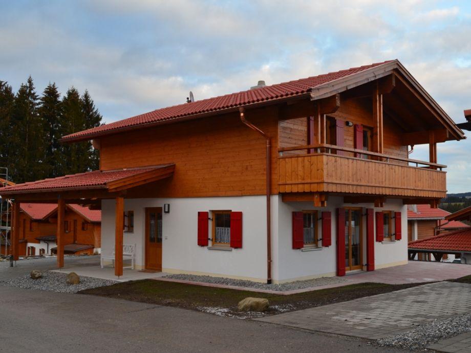 Ferienhaus alpenliebe mit sauna bayern allg u firma for Carport genehmigung bayern