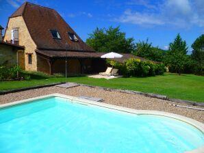 Ferienhaus der Extraklasse, Pool, Périgord, 2 Personen