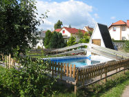 Urlaub am Tharandter Wald Bungalow 2