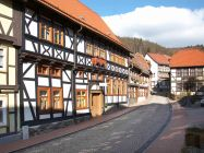 Schlossblick - Vacation in Stolberg in the Harz