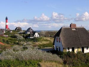 Doppelhaushälfte unter Reet in Hörnum/Sylt