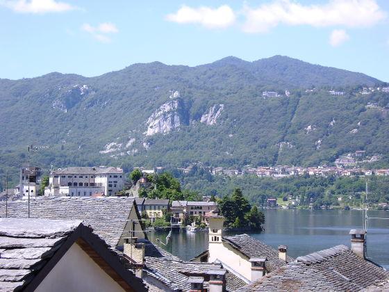 Panoramablick der Ferienwohnung