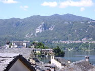 on romantic lake Orta