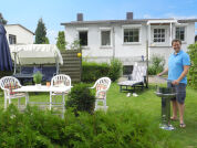 Komfortable Ferienwohnung direkt am See inkl. Fahrräder, Grill, eigenem Garten etc.