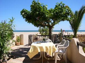 Ferienwohnung Behr - Panorama auf das offene Meer