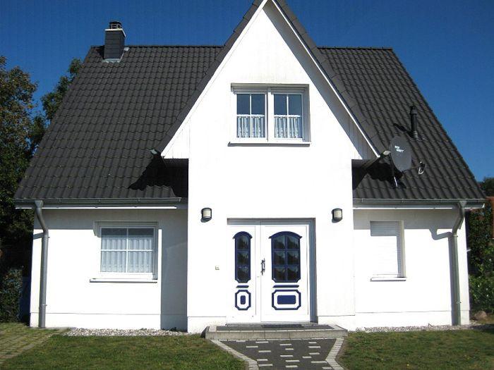 Aussenansicht Strandvilla Hohensee