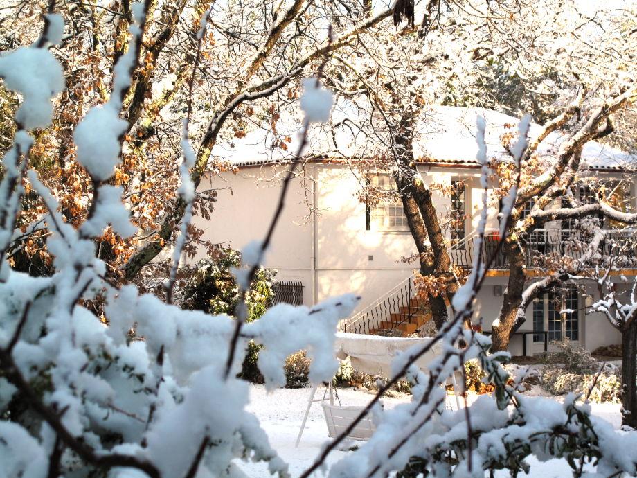 Schnee in der Provence