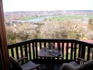 Ferienwohnung Quartier am Burgberg - Burgbergblick