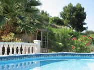 Apartment with private pool near Nice