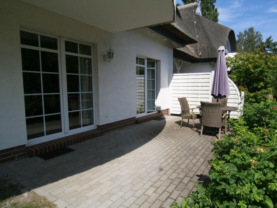 Terrasse m. Gartenanteil,Südwesten