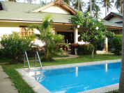 Holiday house beach villa in Koh Samui