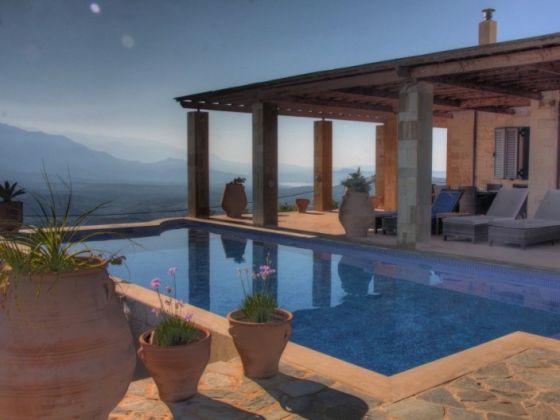 ferienhaus villa jacopo mit pool naturnah kreta. Black Bedroom Furniture Sets. Home Design Ideas