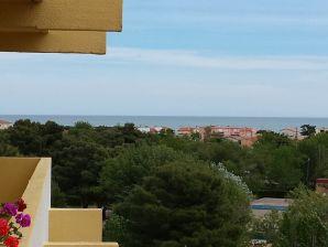 Ferienwohnung Bellevue mit Mittelmeerblick