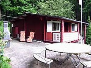 Ferienhaus Blockhaus am Waldrand