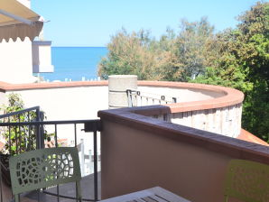 Ferienwohnung in Villa am Meer