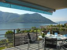 Ferienwohnung Designer Ferienwohnung mit 180 ° Panoramablick auf See und Berge