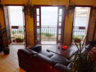 Maisonette with stunning Grand Harbour view