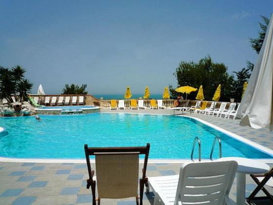 Villaggio Mascia, Vieste (Gargano): Panorama-Pool