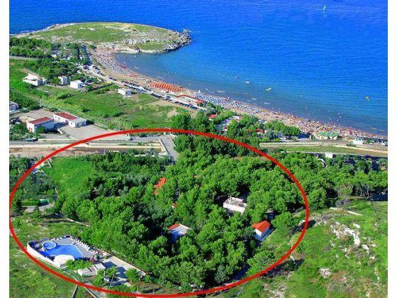 Villaggio Mascia, Vieste: schöne Lage, sehr strandnah