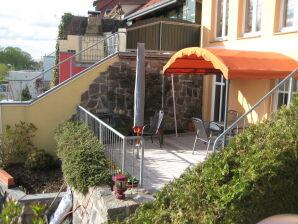 Ferienwohnung mit Terrasse, direkt an der Müritz