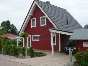 Ferienhaus Schwedenhaus/Fleesensee rot