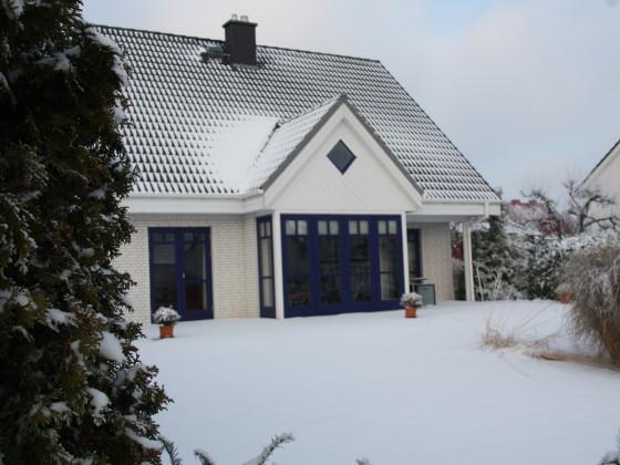 Komforthaus Wendt, im Winter mit Kamin!