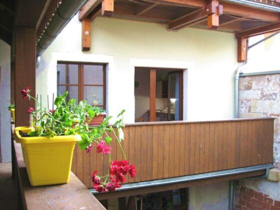 Balkon und Laubengang