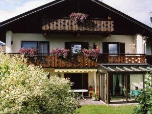 Ferienwohnung im Gästehaus Kautz, Alpenpanorama