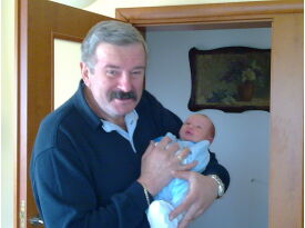 Gianfranko and grandson :)