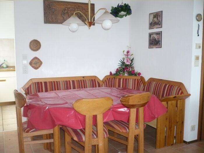 Essplatz Ferienhaus HEIKE und RENATE
