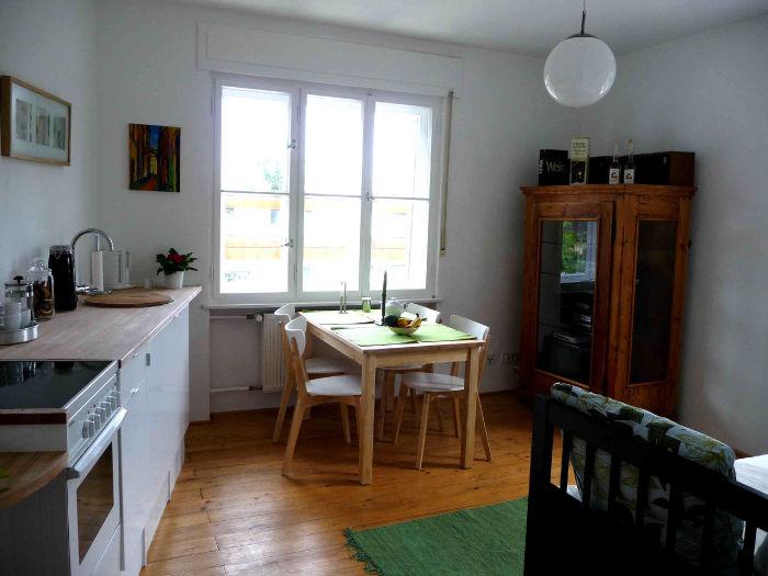 Studio - Küche mit Dänischen Schlafsofa