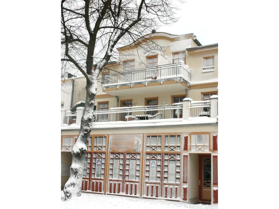 Die Villa Hannah im Winter