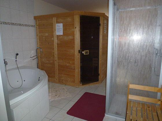 Infrarotkabine Mit Dusche : Ferienhaus Ostseestern mit Sauna ...