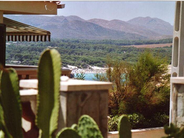 Der Ausblick Terrasse