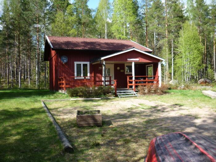 Haus Solbacken im Sommer