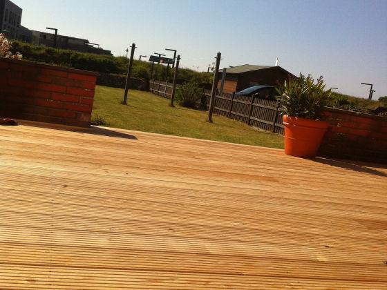 Terrasse mit Garten nach Südwest