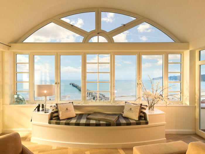 Atemberaubender Panoramameerblick über die Binzer Bucht