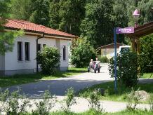 """Ferienhaus """"Töpferblick"""" gelegen in dem TRIXI-Ferienpark Zittauer Gebirge"""