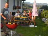Barbecue in the garden pleasure