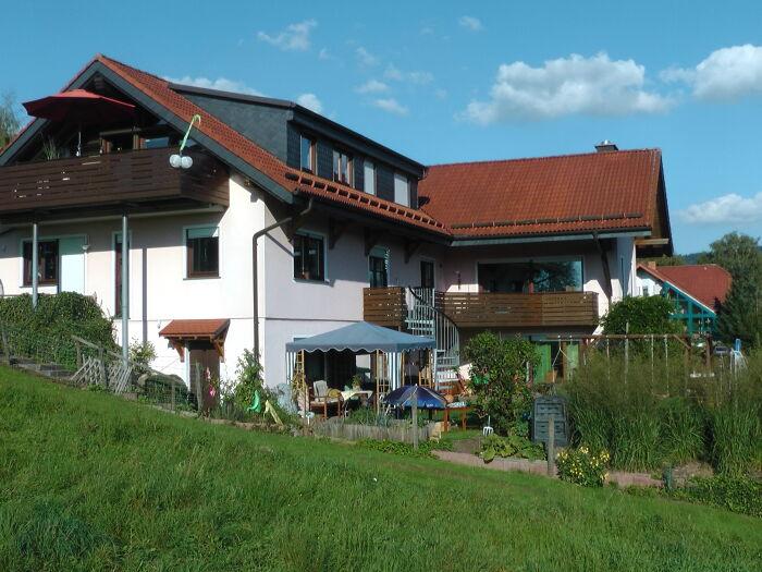 Unser Haus am Südhang